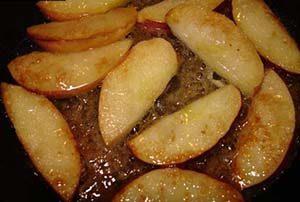 яблоки карамель