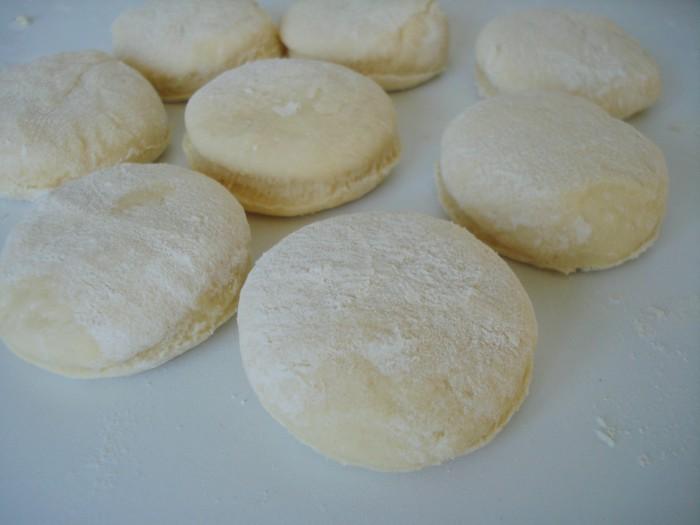 Рецепт вареников с творогом на пару
