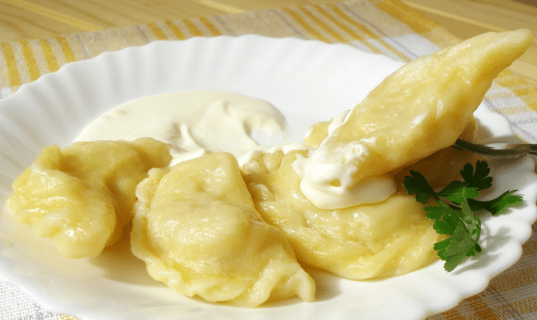 Приготовление вареников с творогом и картошкой