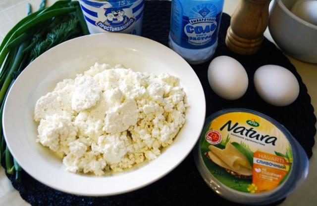Рецепты вареников с творогом и зеленью
