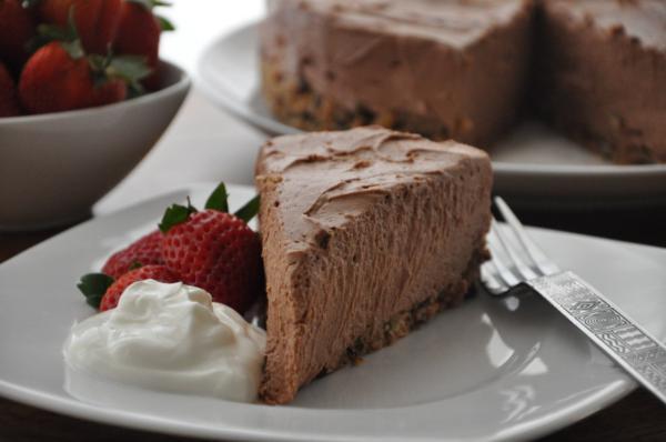 Рецепты шоколадного чизкейка из творога в духовке и без выпекания