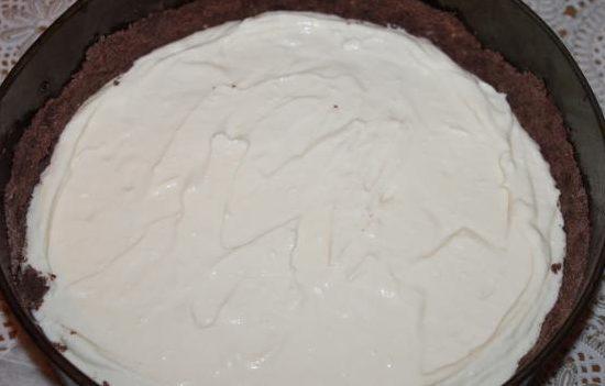 Рецепт торфяного торта с творогом