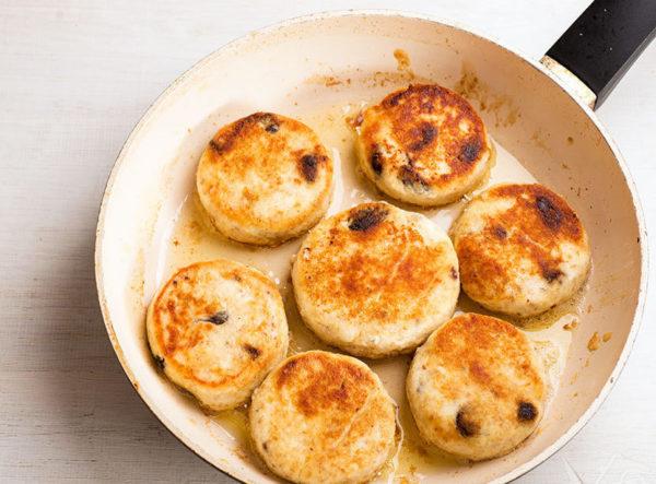 Рецепт овсяных сырников