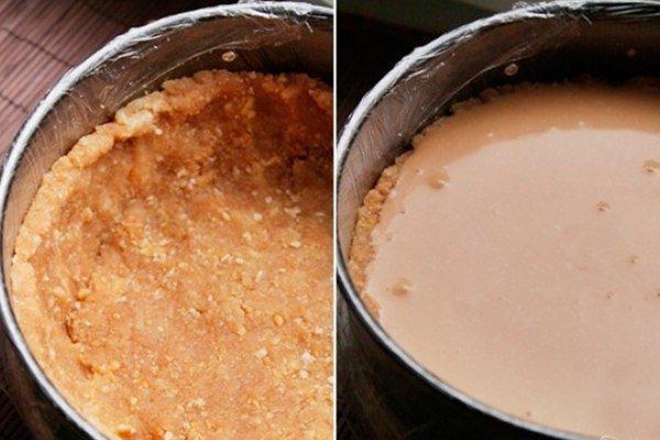 Рецепт чизкейка без выпечки с творогом