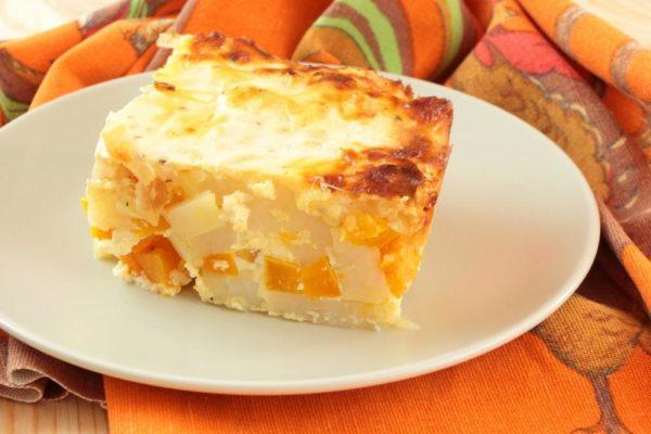 Рецепты творожной запеканки с тыквой и яблоками в духовке и мультиварке