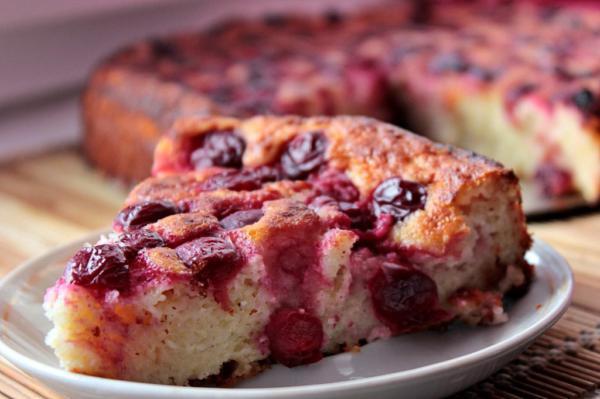 Варианты приготовления творожных кексов с вишней