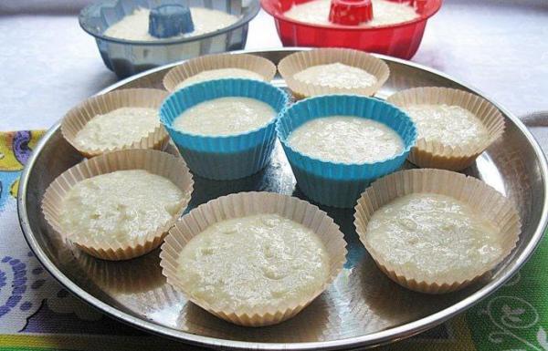 Рецепты творожного кекса на кефире