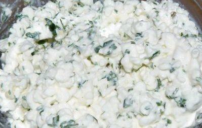 Рецепт болгарского перца фаршированного творогом и зеленью