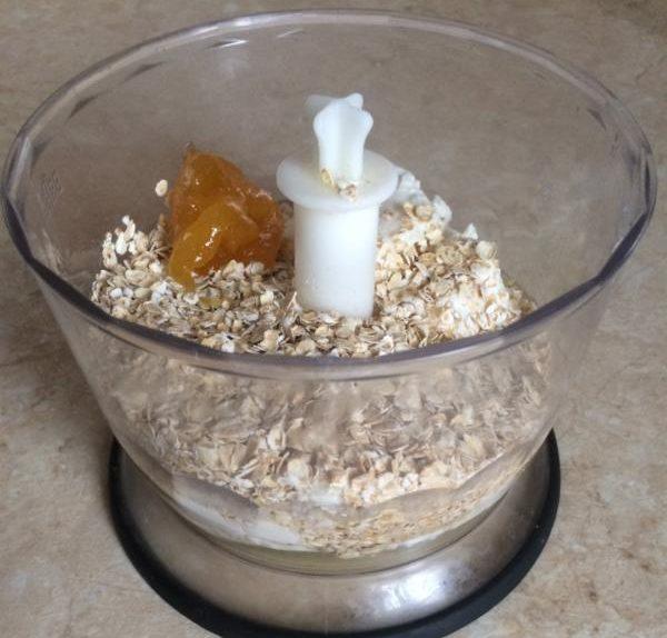 Рецепт диетического творожного печенья с овсяными хлопьями