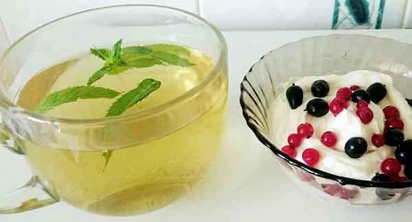 чай и творог