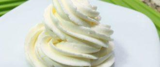 сыр творожный суфле для торта крем