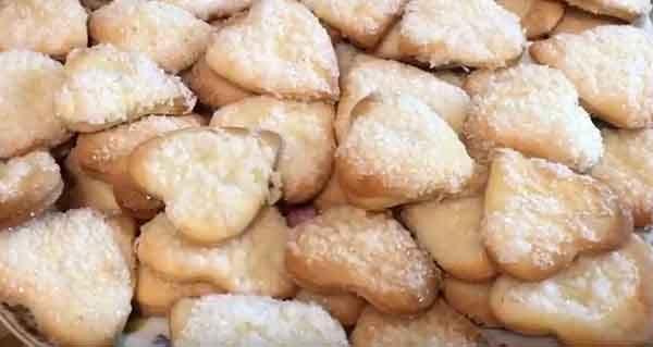 печенюшки без масла с творогом