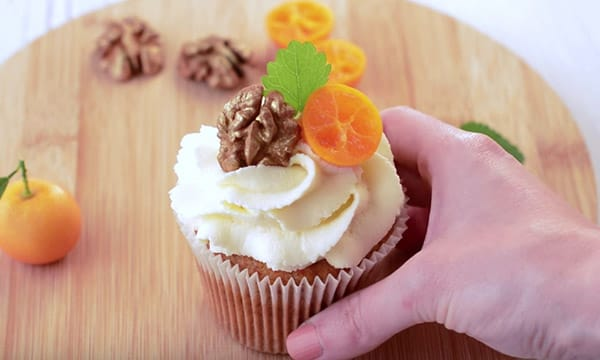 Рецепт морковно-творожного кекса