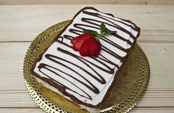 Рецепты тортов из печенья и творога без выпечки