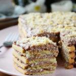 творожный торт из печенья без выпечки