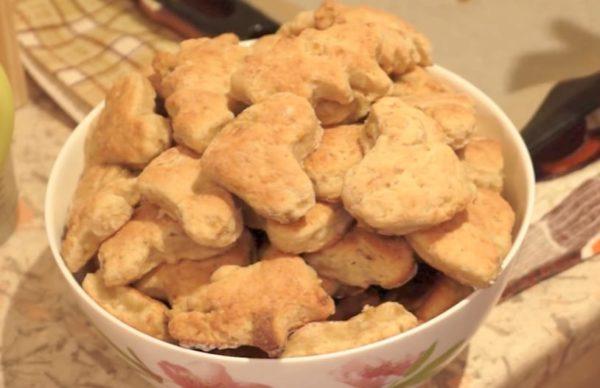 Простые рецепты печенья с творогом и бананом